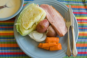 Irish Ham and Cabbage