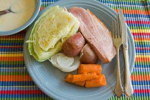 Irish Ham and Cabbage