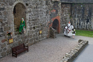 Carrickfergus-Castle-display