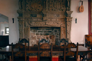 Donegal Castle fireplace