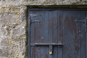 Dunguaire-Castle-Door