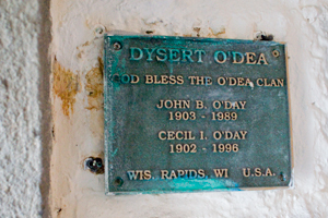 Dysert-Odea-Castle-sign