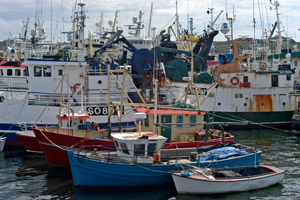 Killybegs Ireland harbor