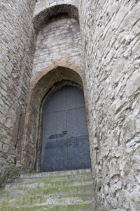 King-John's-Castle-door