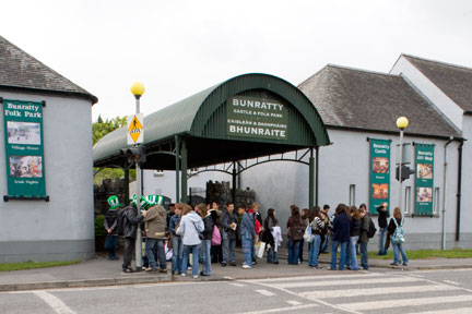 Bunratty-Folk-Park-entrance