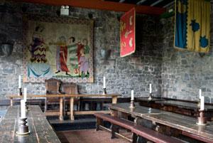 Knappogue-Castle-banquet-hall