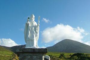 St-Patrick-at-Croagh-Patrick-Mountain